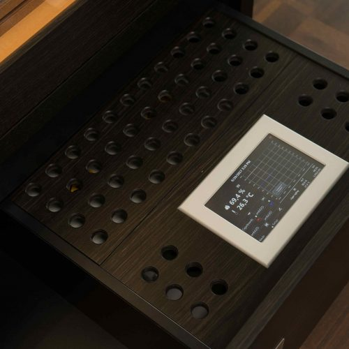 SchrankhumiTouch Panel Number One » GERBER Humidordor No.1 Touch Panel GERBER Humidor