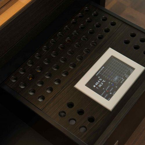 Schrankhumidor No.1 Touch Panel GERBER Humidor