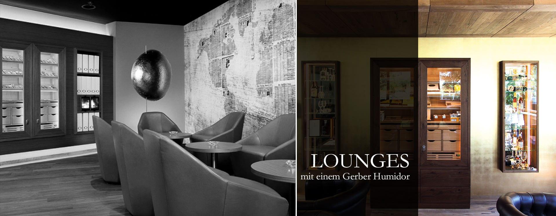 Cigar Lounges Raucherlounges GERBER Humidor
