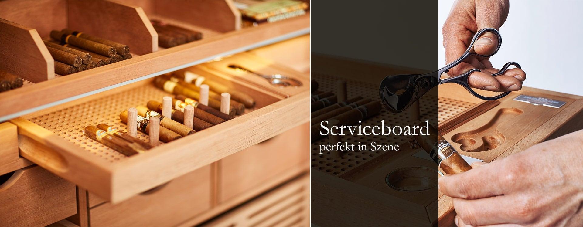 GERBER Humidor Serviceboard