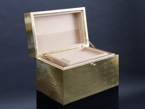 GERBER Humidor Cube Gold
