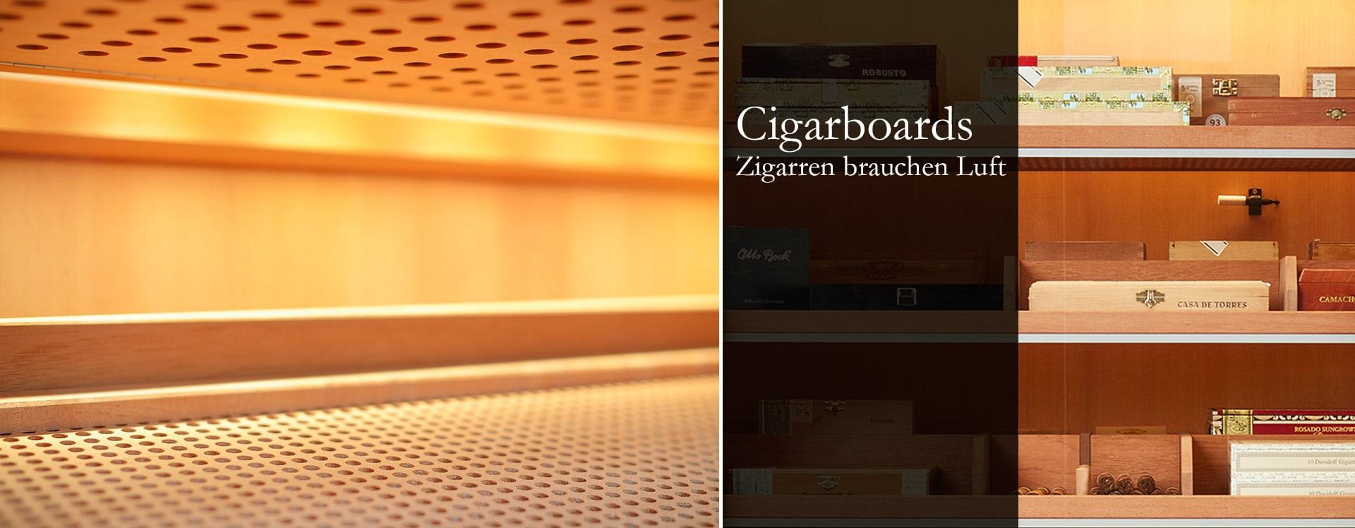 GERBER Humidor Cigarboards