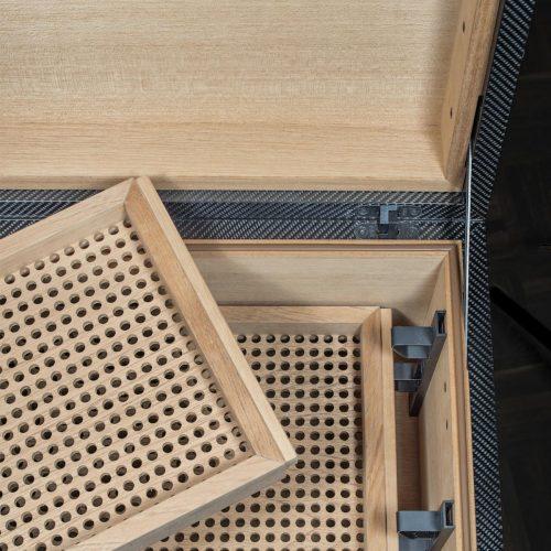 GERBER Humidor Monolith Carbon Cigarboards