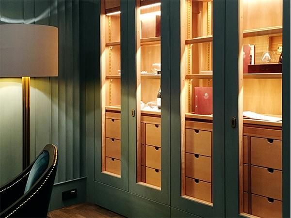 Cigar Lounges Hotel Adlon GERBER Humidor