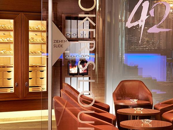 Cigar Lounges Hotel GERBER Humidor