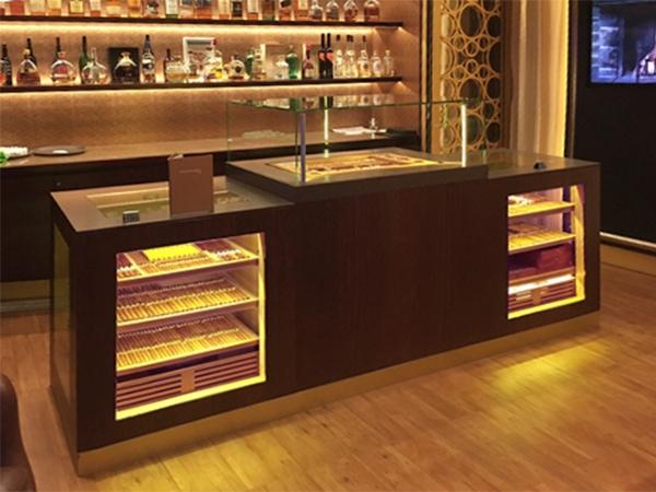 Cigar Lounges Luxus Schiff GERBER Humidor
